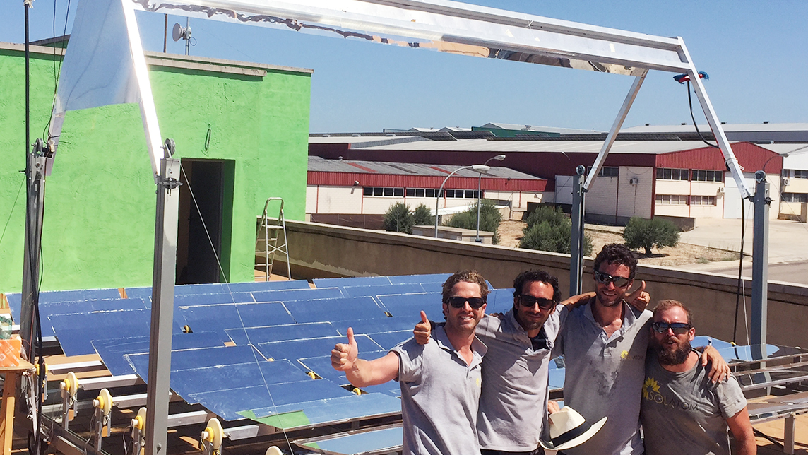 Solatom: Cost-effective flatpack mobile solar energy units for SMEs