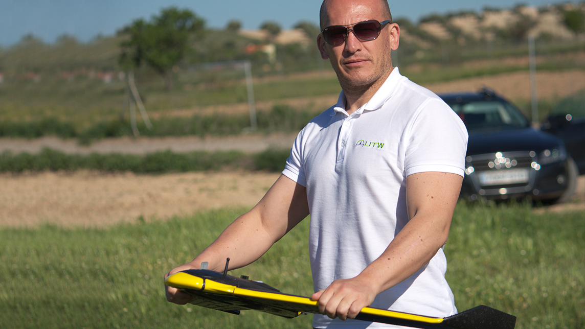 UTW: Drones and big data to help farmers get the most out of their land