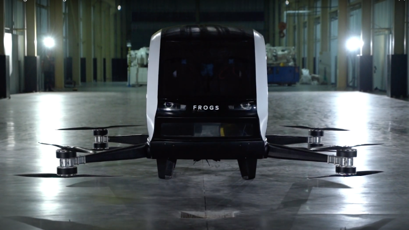 FROGS: Overcoming challenges to launch Indonesia's first drone-taxi for daily commutes