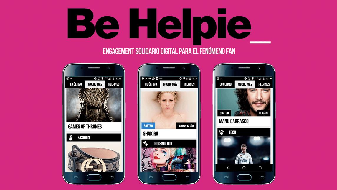 Be Helpie: Fundraising designed for Gen Z