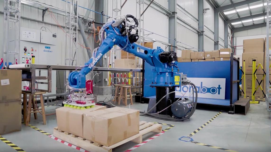 Dorabot's aim for warehousing: No humans allowed