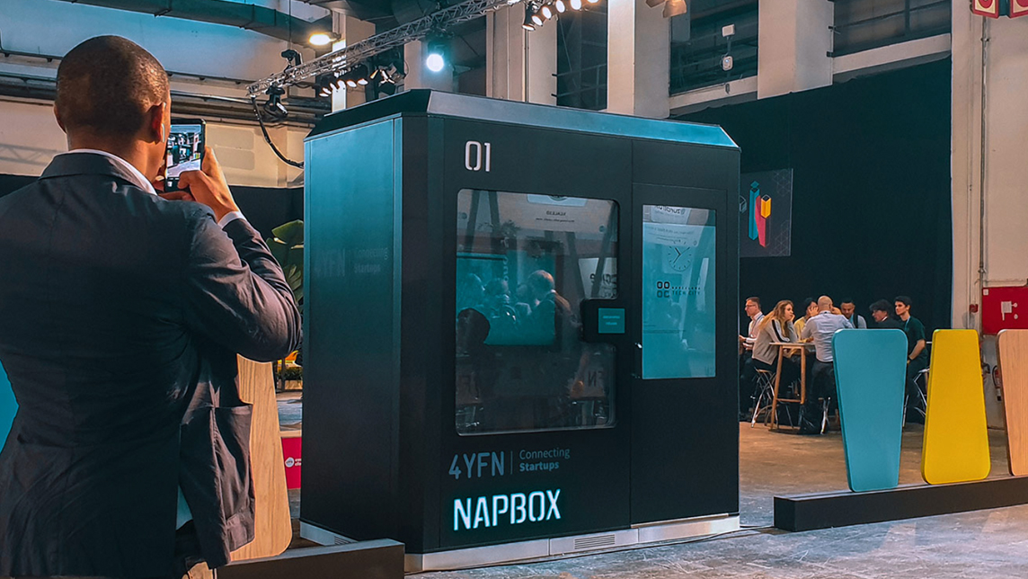 Napbox: Sleeping capsule mania takes off in Spain