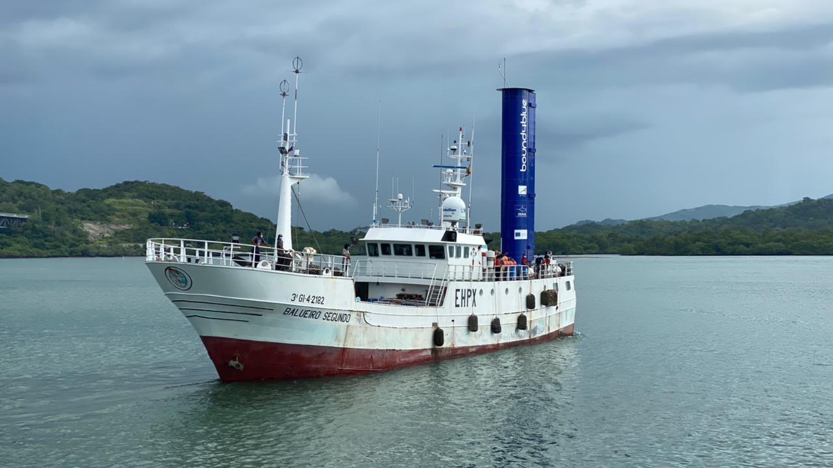 Bound4Blue's aeronautical tech propels first sustainable shipping vessel in the Pacific