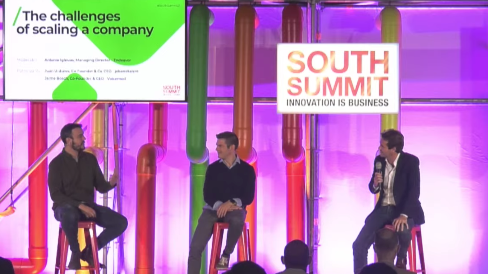 South Summit 2021: Key insights on going from startup to scaleup in Spain
