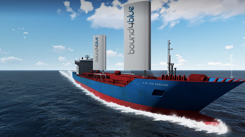 Bound4Blue taps aeronautical technology for sustainable shipping solutions