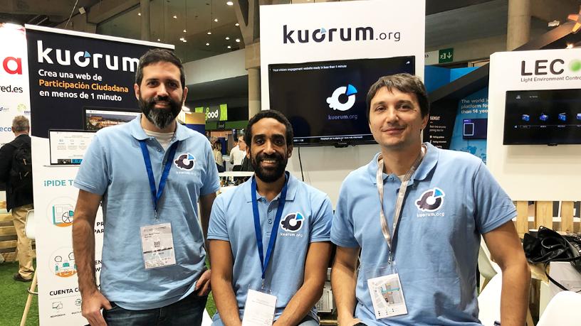Kuorum: a SaaS that enables citizen participation