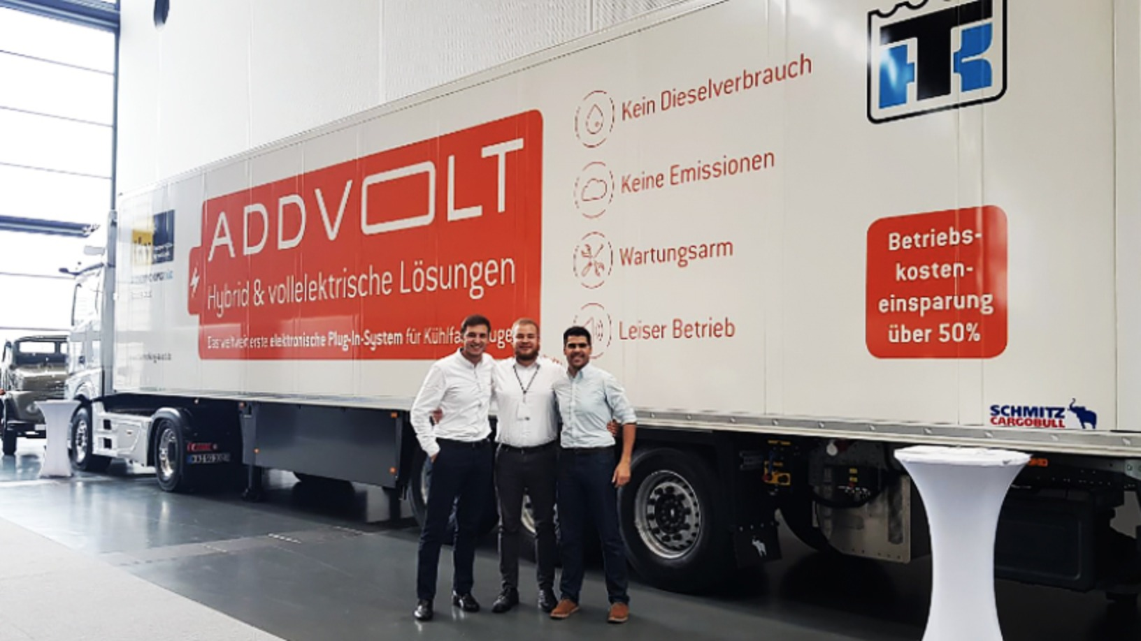 AddVolt: Taking the diesel out of cold-chain transport to make it cleaner, more efficient