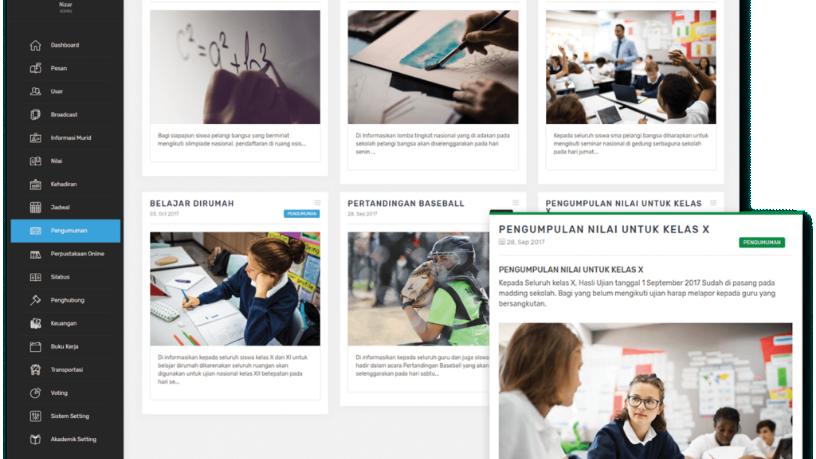Simak:  An integrated edtech platform for Indonesian schools, parents, teachers and students