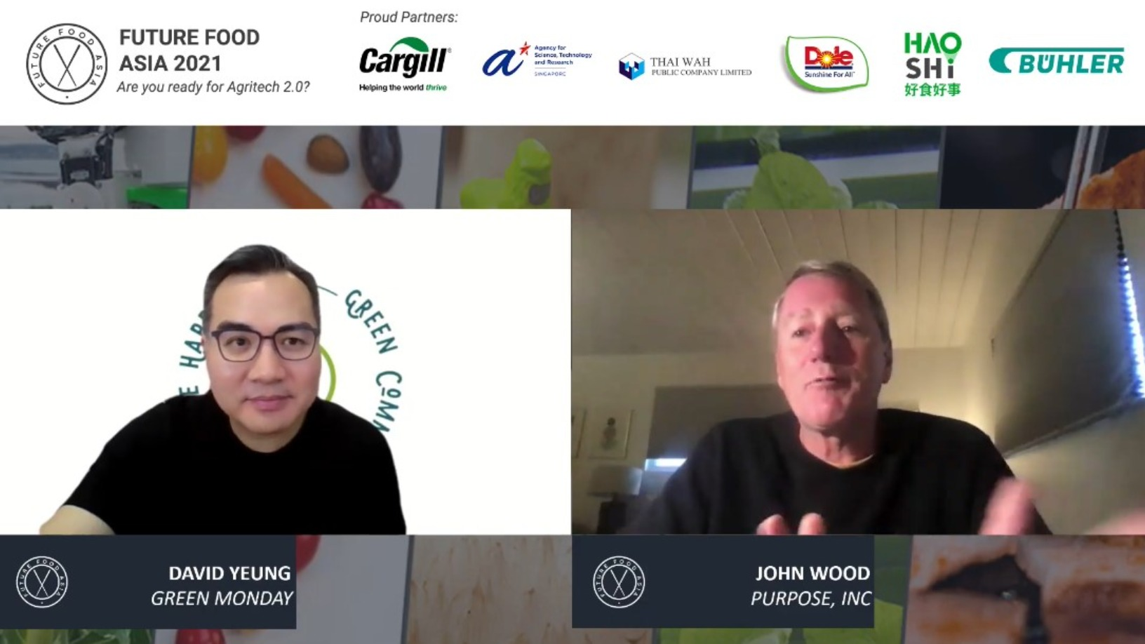 Future Food Asia 2021: Fireside chat with Green Monday's David Yeung