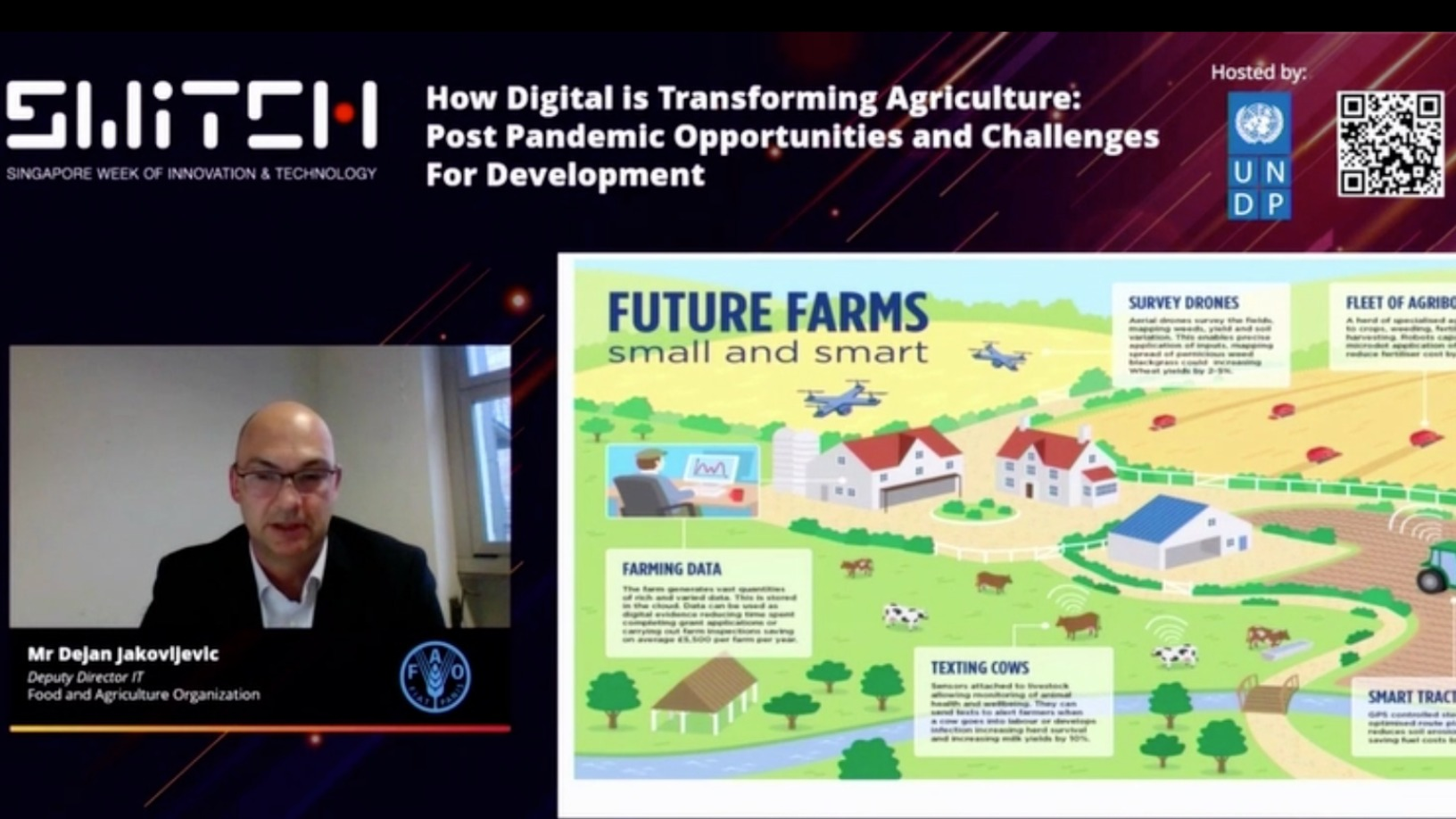 SWITCH Singapore: Race in agrifood tech as a solution to feeding 10bn people