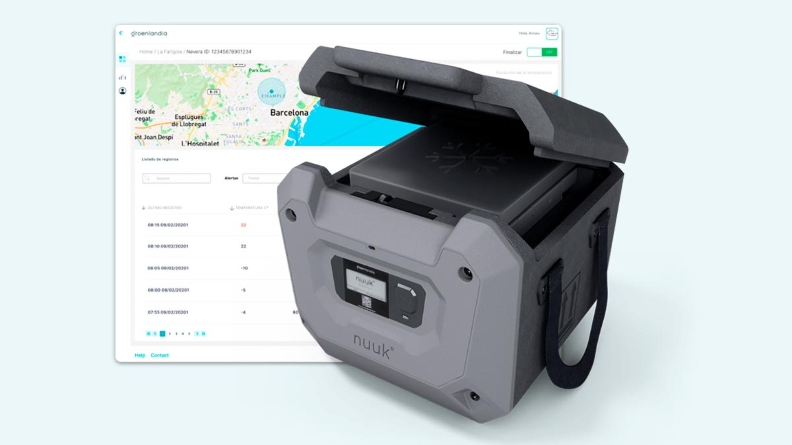 Nuuk, the cooler box poised to disrupt cold chain logistics