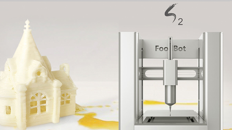 Shiyin Tech's self-service 3D food printers let you create your own desserts