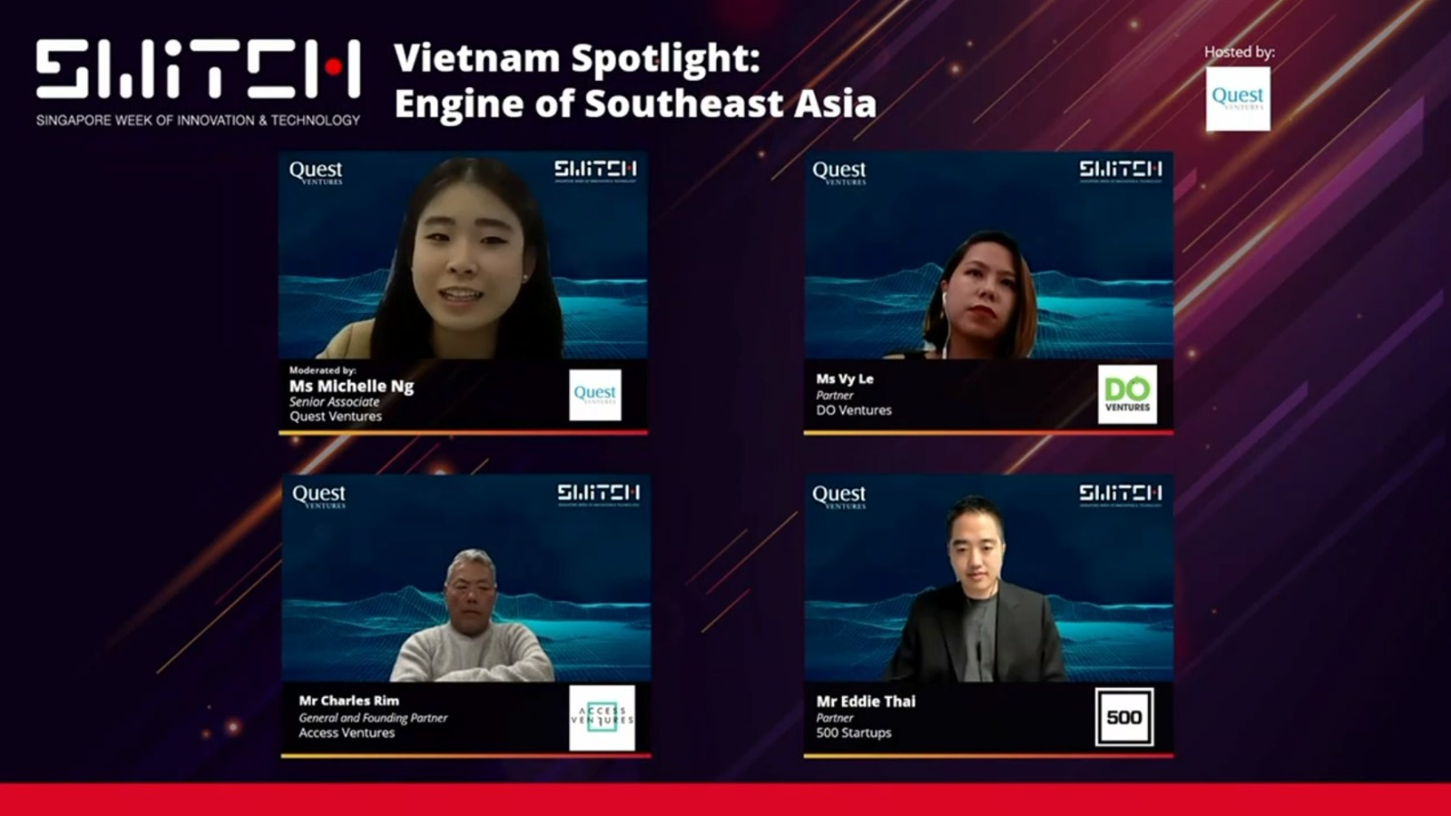 SWITCH Singapore: Investors highlight Vietnam startup ecosystem's potential and resilience