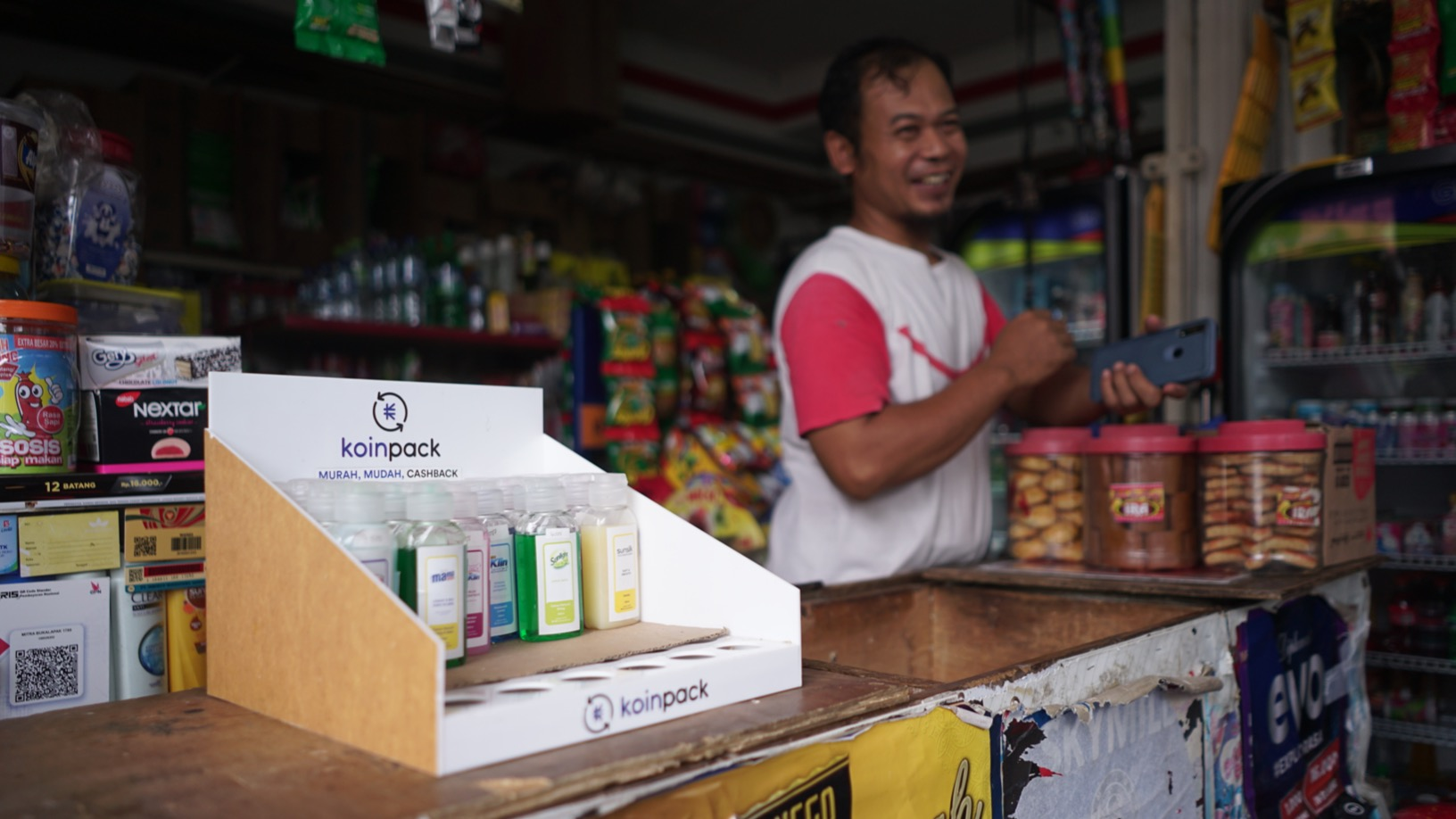 Koinpack tackles Indonesia's sachet waste problem with refillable bottles