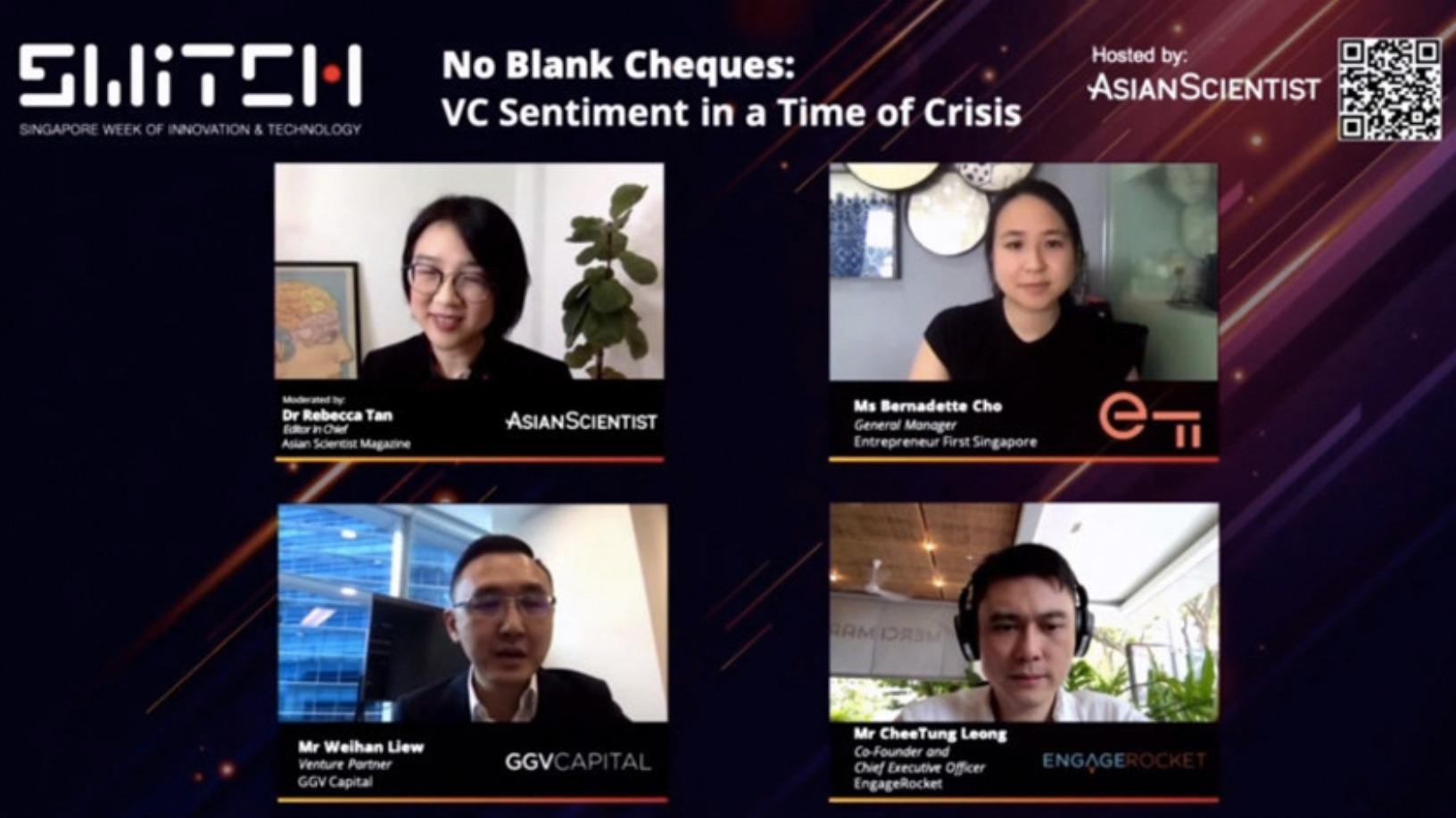 SWITCH Singapore: VCs urge startups to think beyond Covid-19