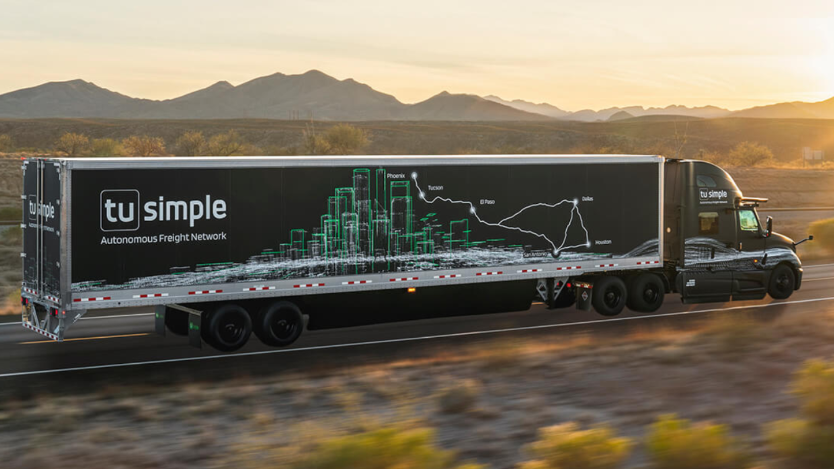TuSimple: Banking on autonomous trucking in the US