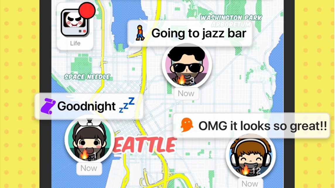 """""""Spot"""" your friends, live chat and share music with this social mapping app"""