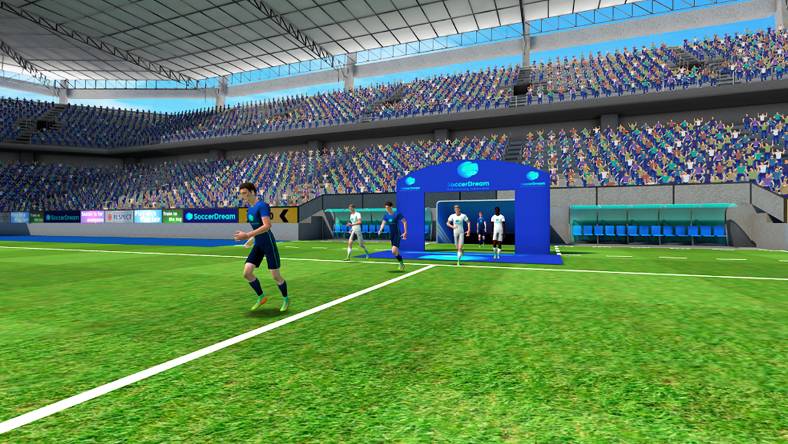 SoccerDream: World's first VR soccer training platform to launch in China, US