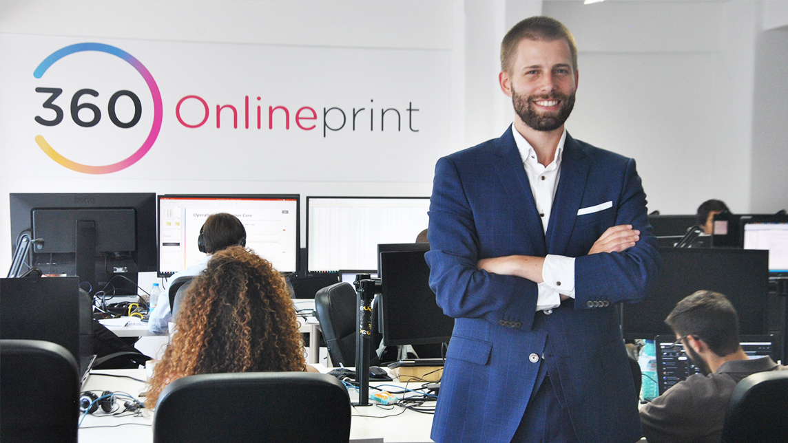 """360imprimir: """"We want to be the Amazon of corporate products and marketing services"""""""