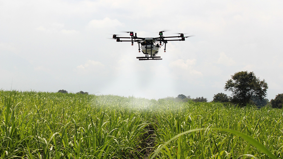 Farm Friend: World's first agri-drone sharing platform wins over users, investors