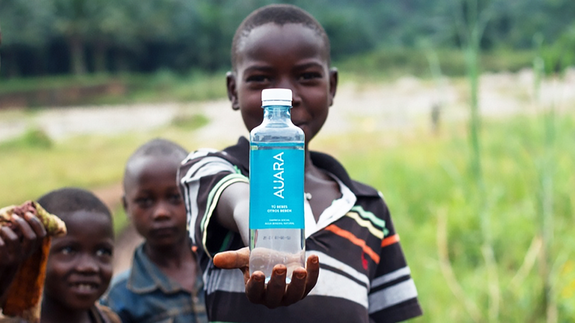 Auara: Social enterprise and environmental sustainability in a bottle